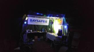 BaySafe Booth Night